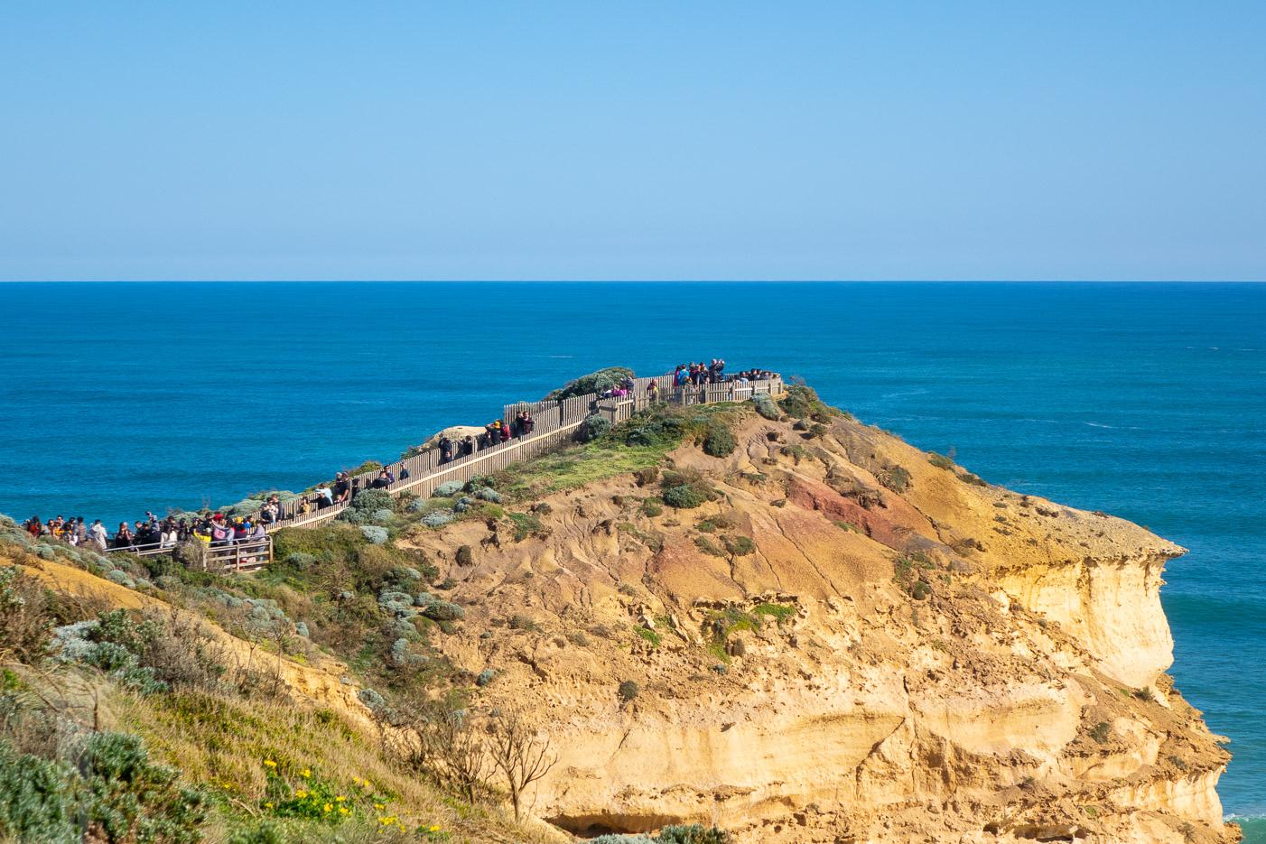 Turiststråk vid Tolv Apostlarna