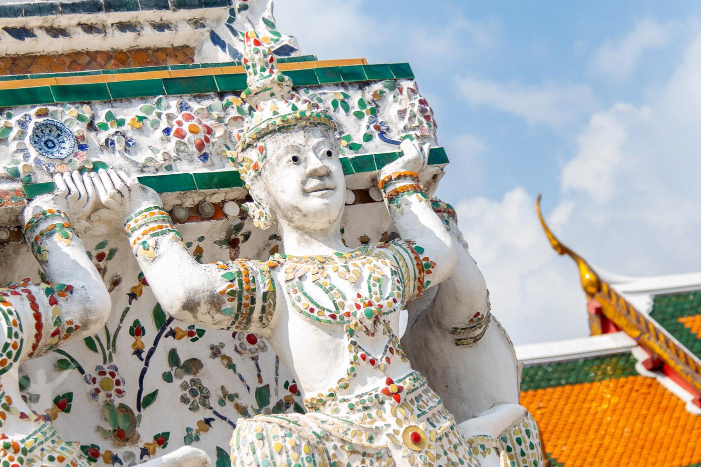 Wat Arun i Bangkok