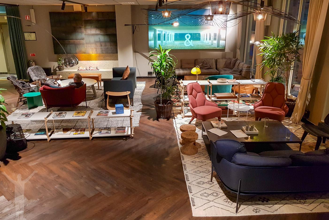 Lounge på Best Western & hotel, Stockholm