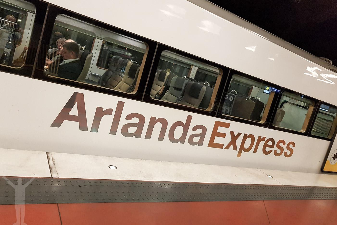 Arlanda Express - dyrt