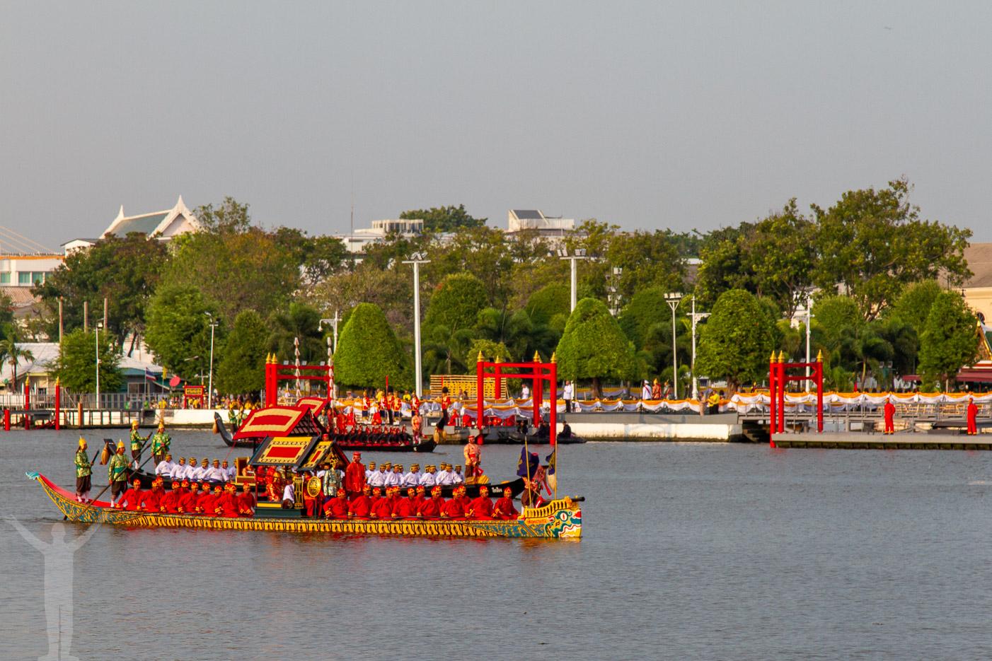 Royal Barge Procession i Bangkok