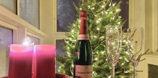 Champagne på julafton