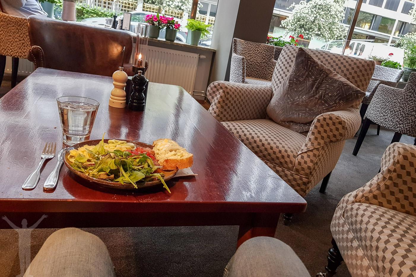 Middag på Clarion Hotel Wellington.