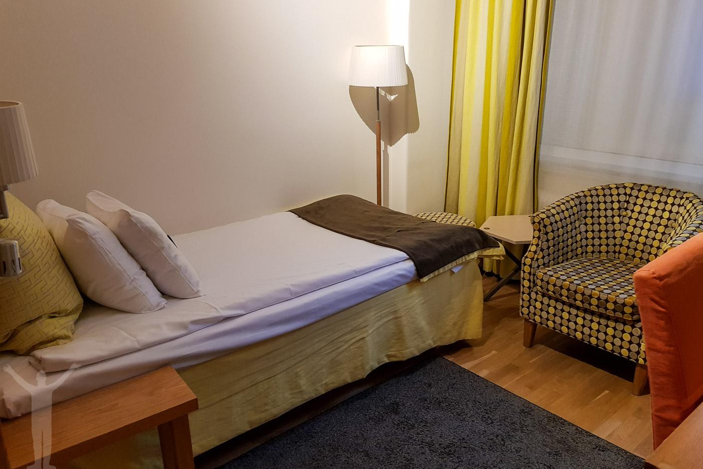 Rummet på Clarion Hotel Wellington.
