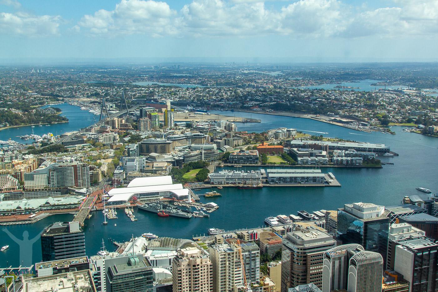 Utsikt från Sydney Tower