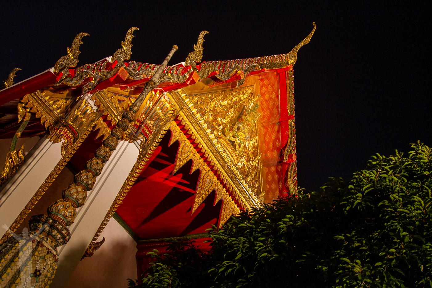 Kvällsfotografering i Bangkok