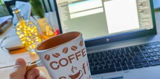 Distansjobb och egenfixat kaffe