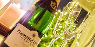 Champagne på nyårsafton