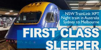 Nattåg - Sydney - Melbourne