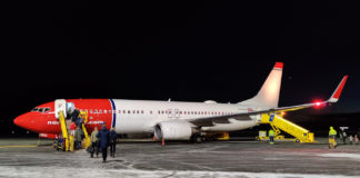 Norwegian 737-800 SE-RRS