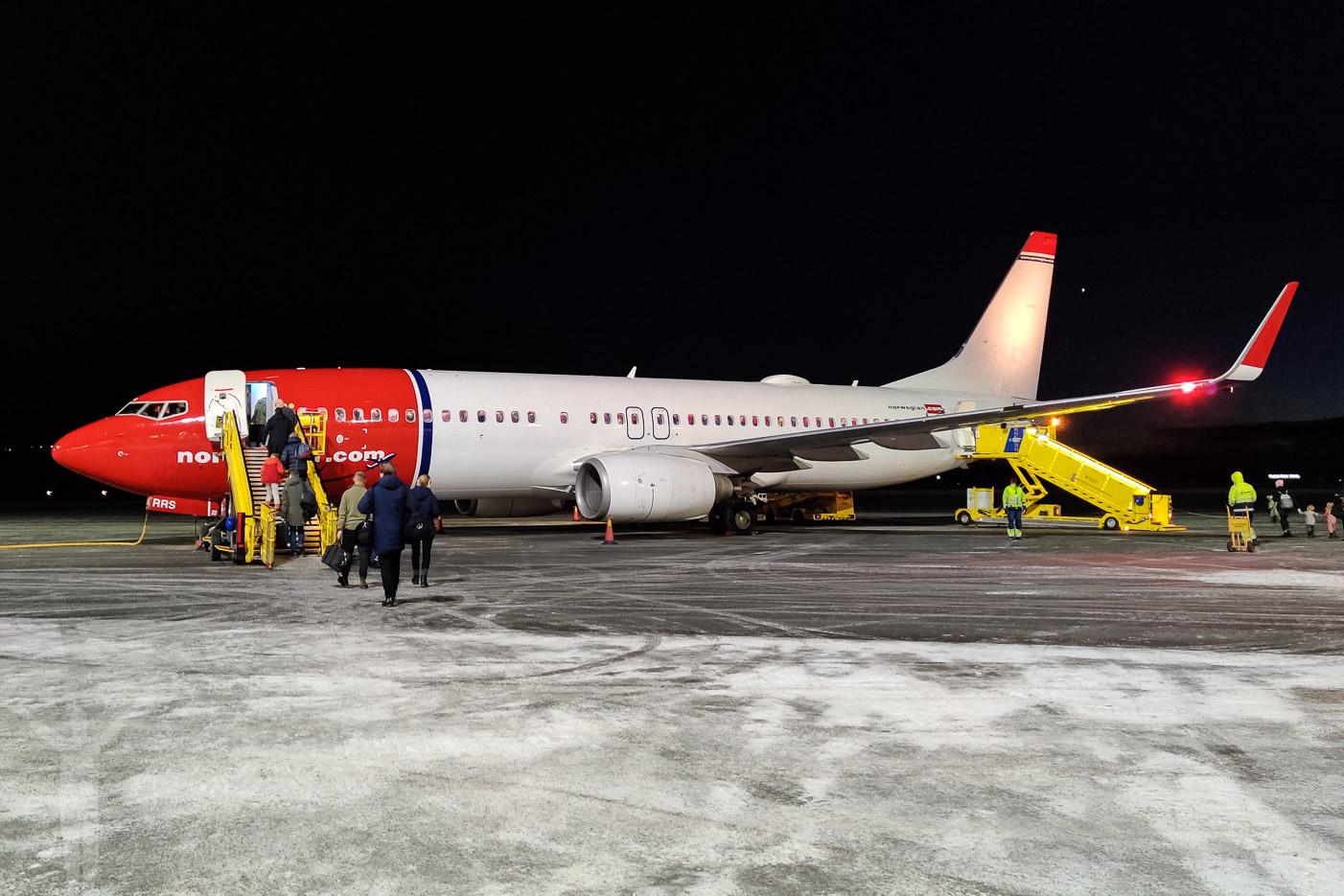Norwegian 737-800 SE-RRS