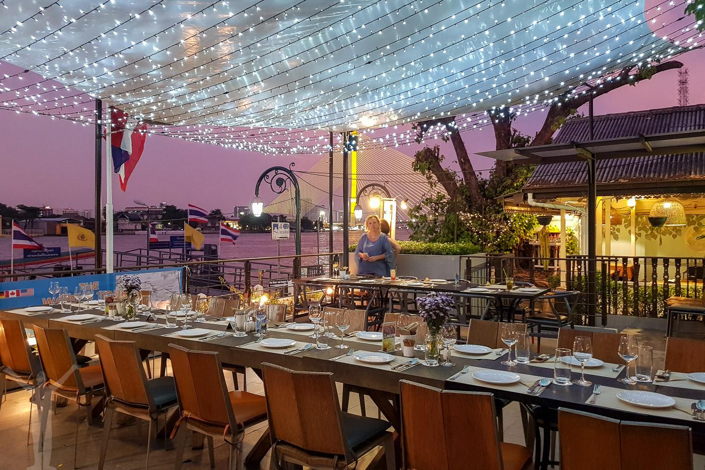 Middag på Riva Surya