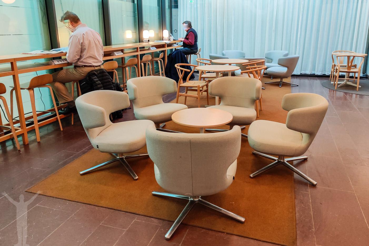 SJ Lounge på Göteborg Centralstation