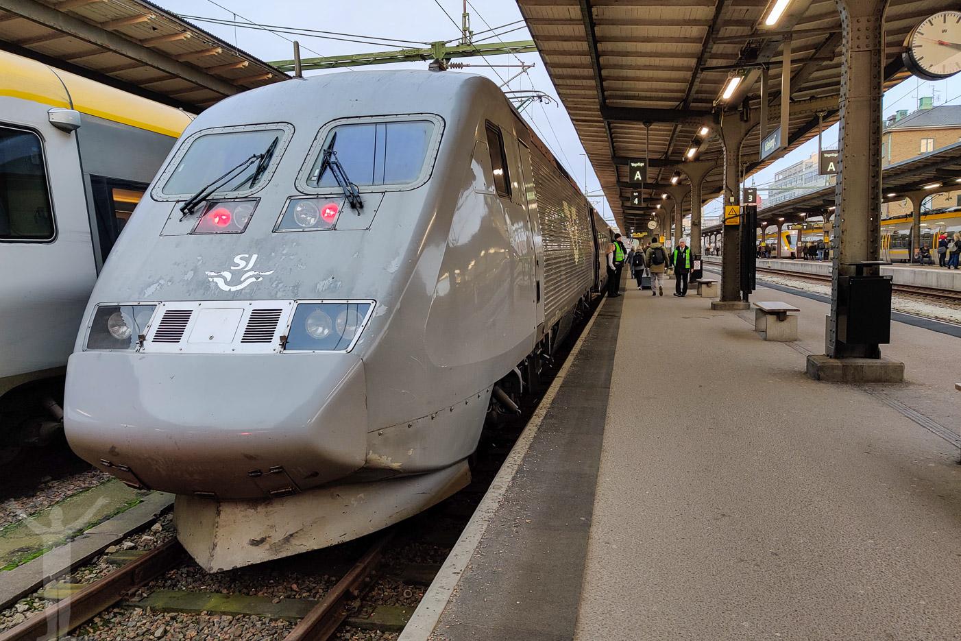 SJ X2000 i Göteborg