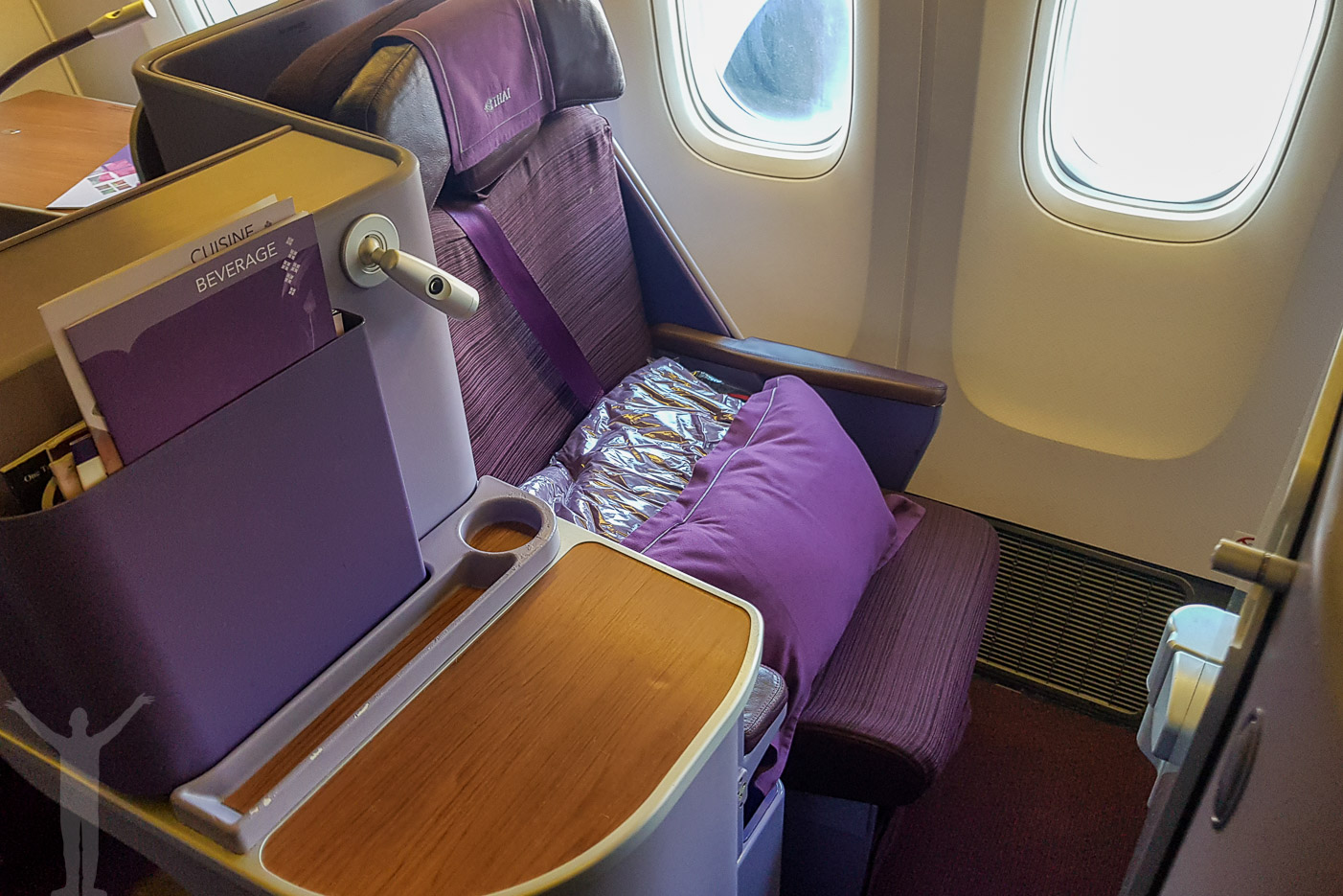 Business Class på Thai B77W