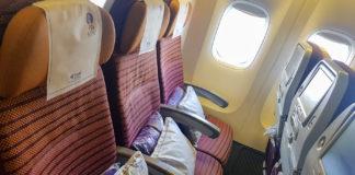 Ekonomiklass på Boeing 777