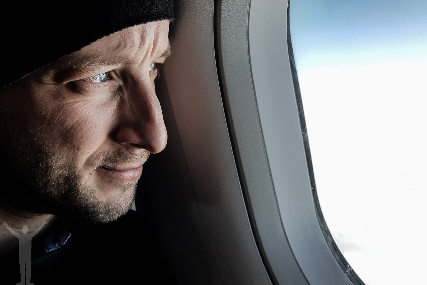 Lugn och ro på flyget