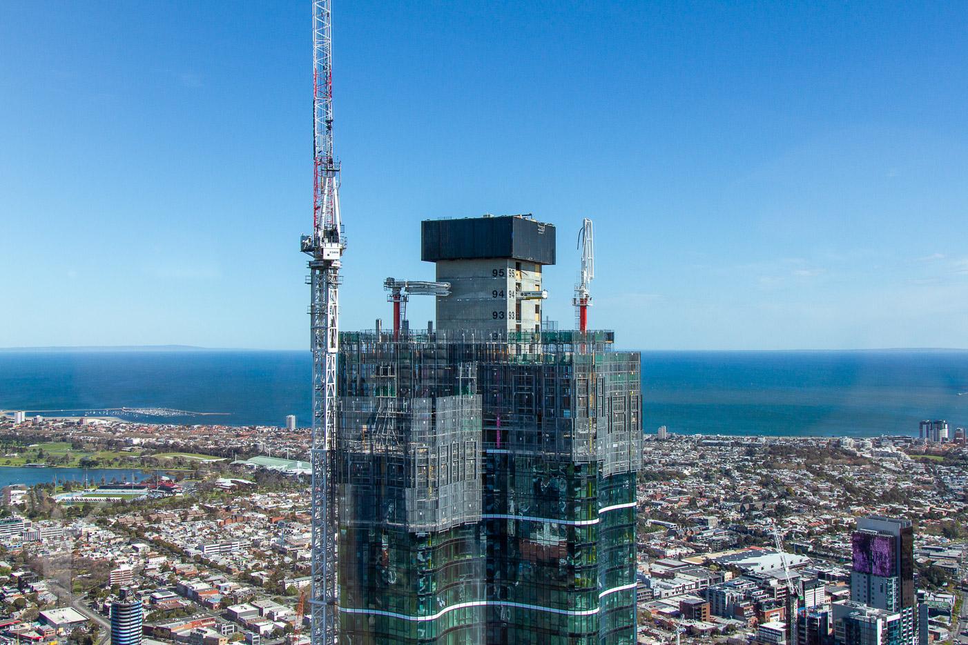 Snart den högsta byggnaden i Melbourne