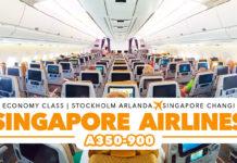 Singapore Airlines från Arlanda till Singapore
