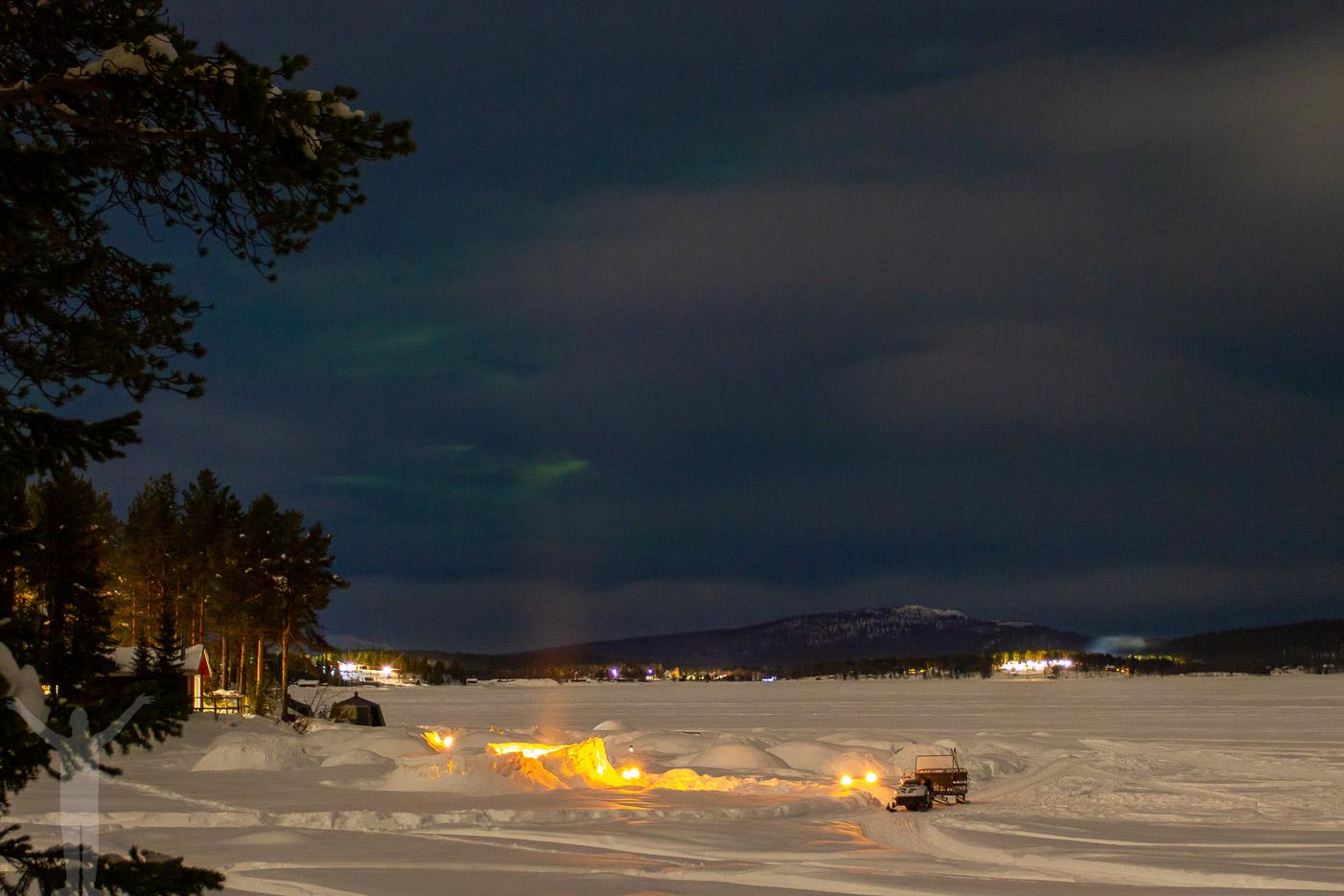 Kväll över Kallojärvi