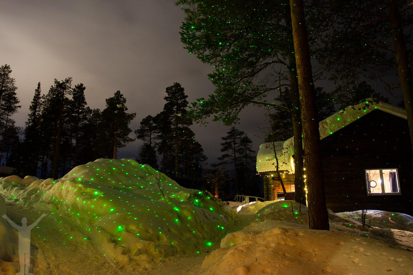 Aurora Camp utanför Kiruna