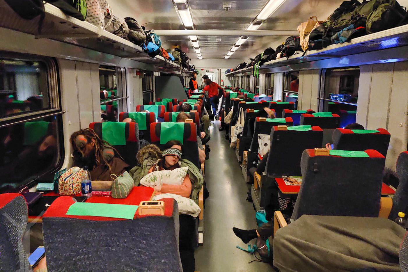 2 Klass sittvagn