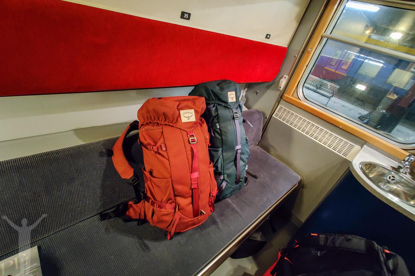 Två ryggsäckar från Osprey