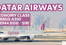 Qatar Airways A350 QR944