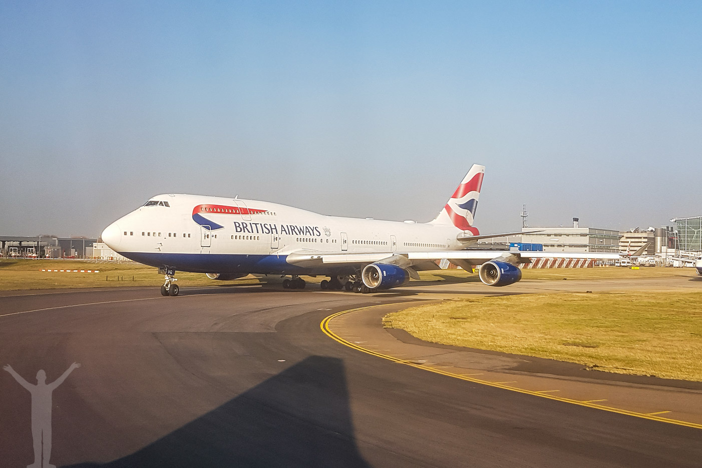 British Airways Boeing 747-400, G-CIVG på London Heathrow 2017