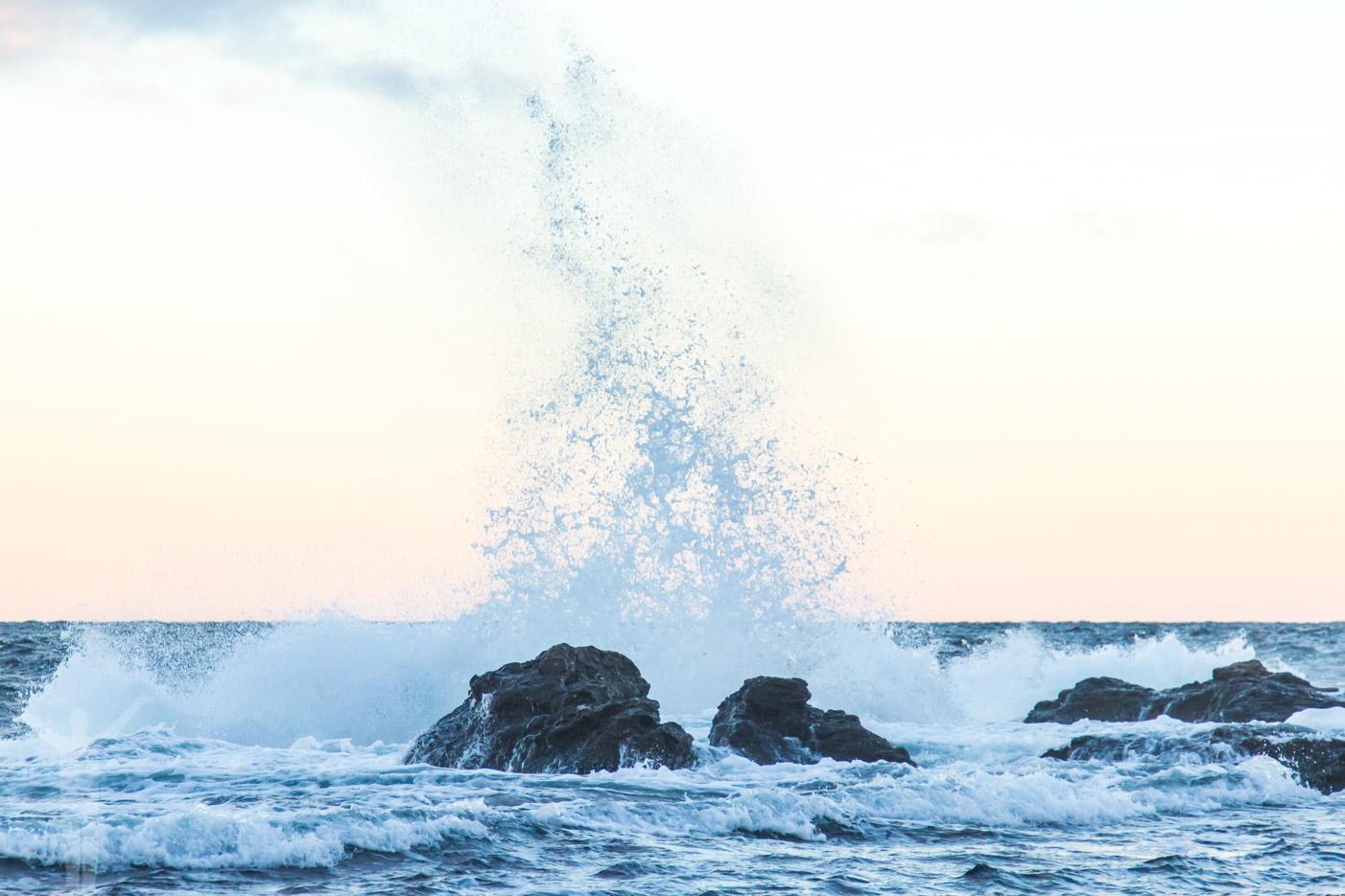 Östersjöns höstiga hav på Gotland