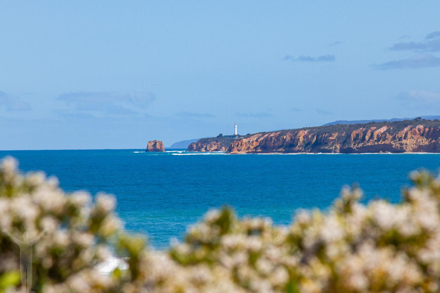 Södra Stilla Havet, längs Great Ocean Road