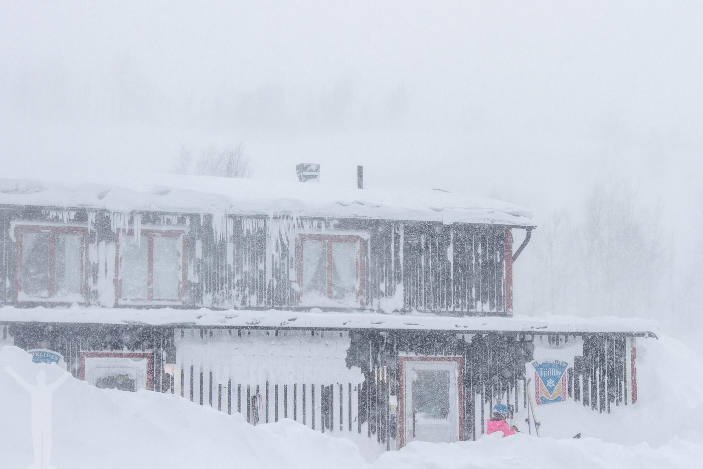 Skishop på Hotell Fjället i Björkliden