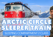 SJ Arctic Circle Train