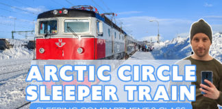 SJ Arctic Circle Train