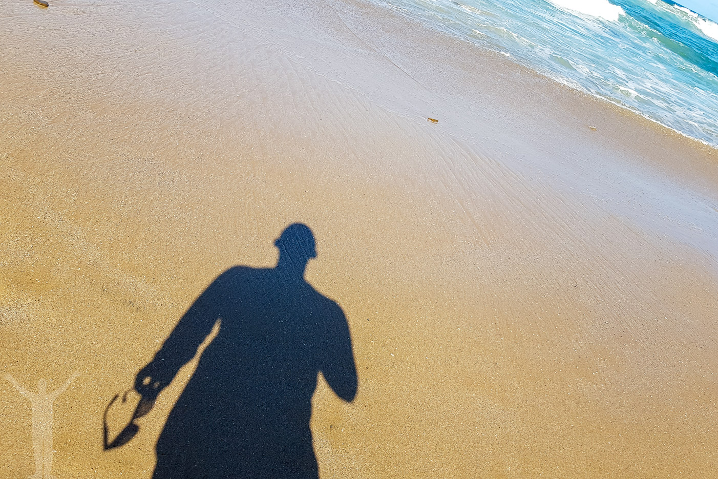 Strand-selfie