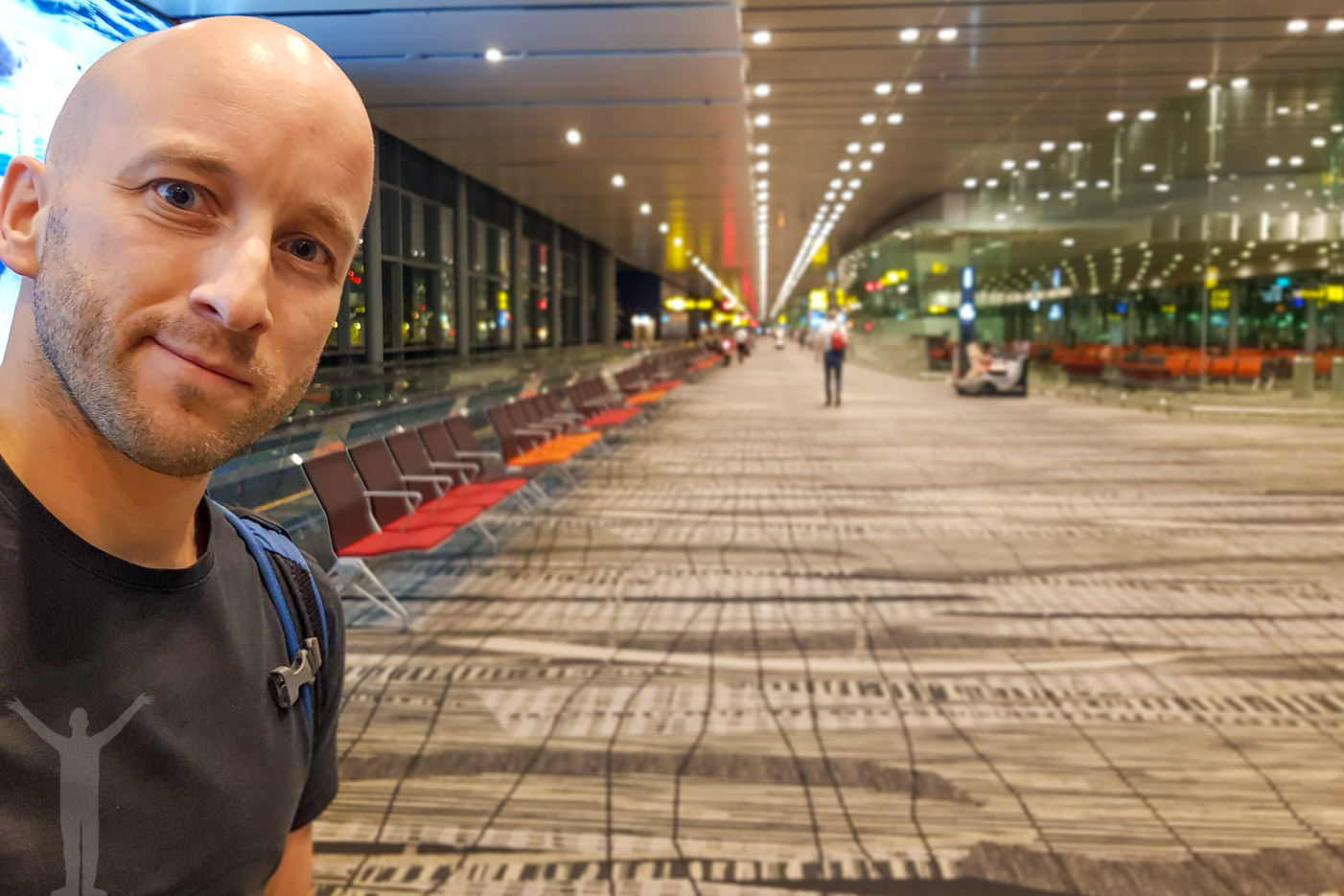 Dryden på Changi Airport