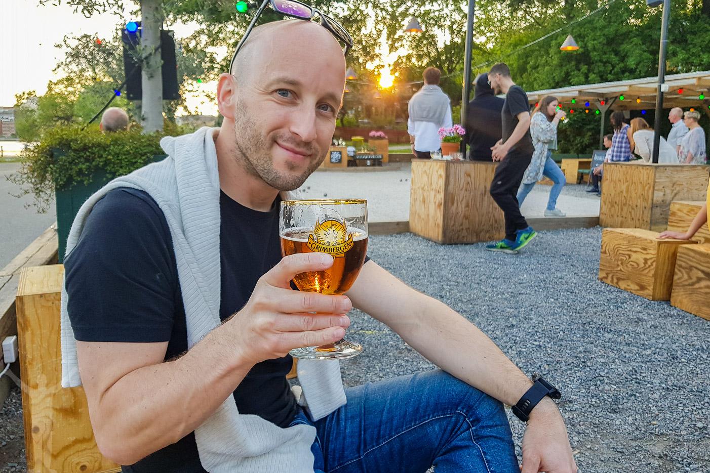 Ölhäng i Stockholm
