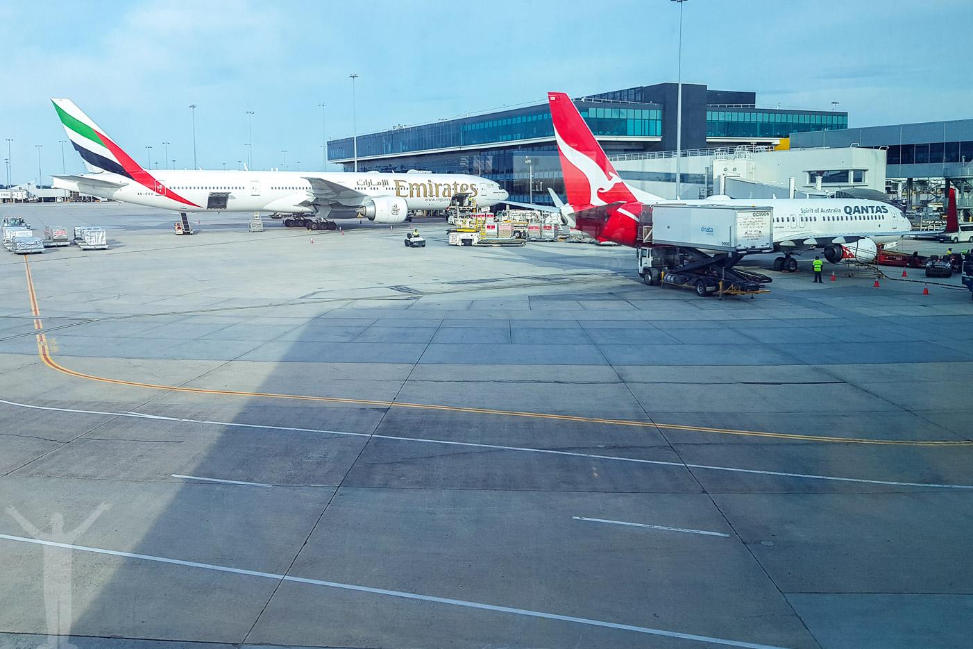 Flightspotting i Melbourne