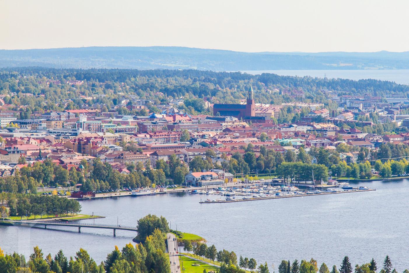 Utsiktsplatsen på Frösön / Östberget