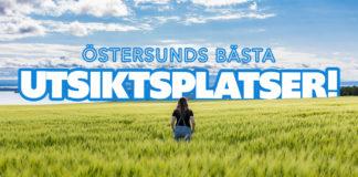 Östersunds bästa utsiktsplatser