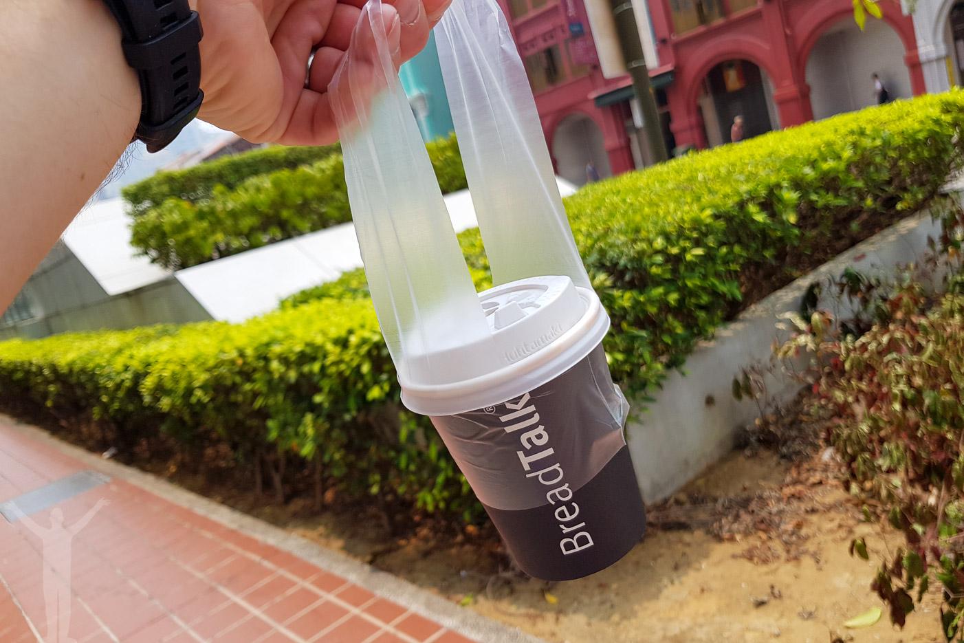 Plastbag för kaffe