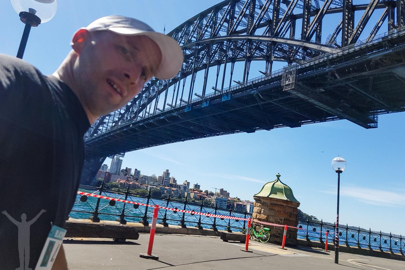 Snart i mål i Sydney Marathon