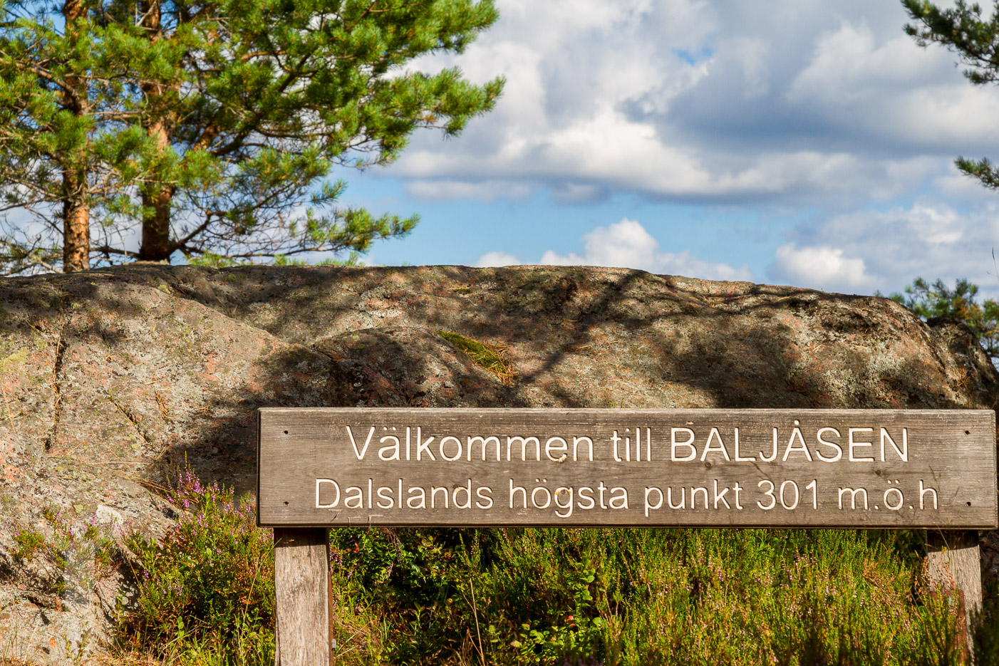 Baljåsen är Dalslands högsta berg