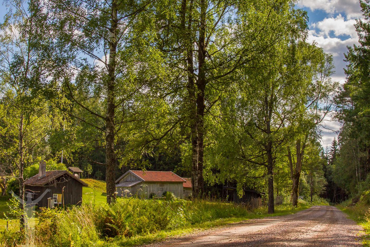Grusväg i Dalsland