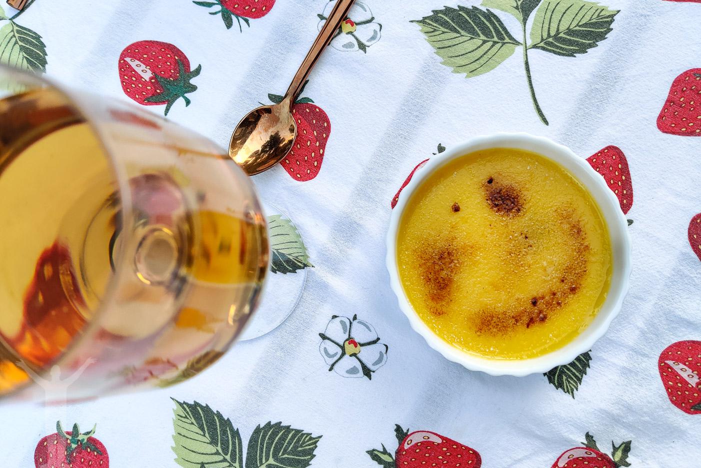 Crème brûlée till midsommarmiddagen