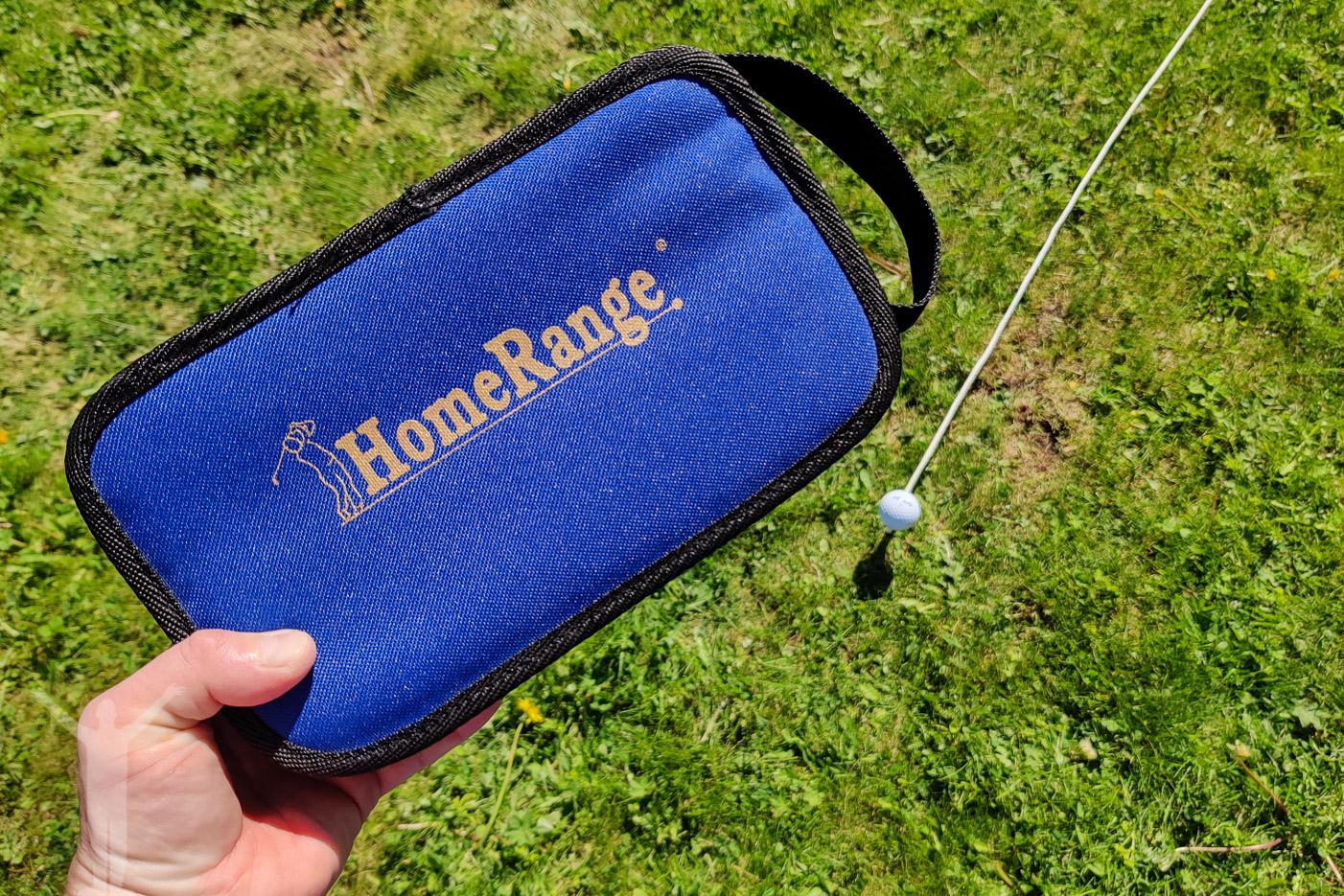 Homerange - träna golf hemma