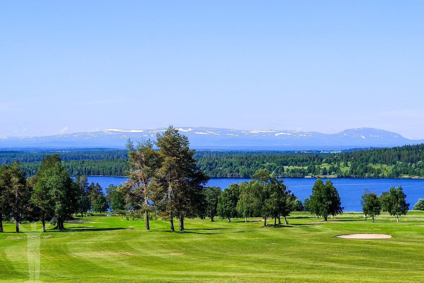 Östersund Frösö Golfklubb en morgon i juni