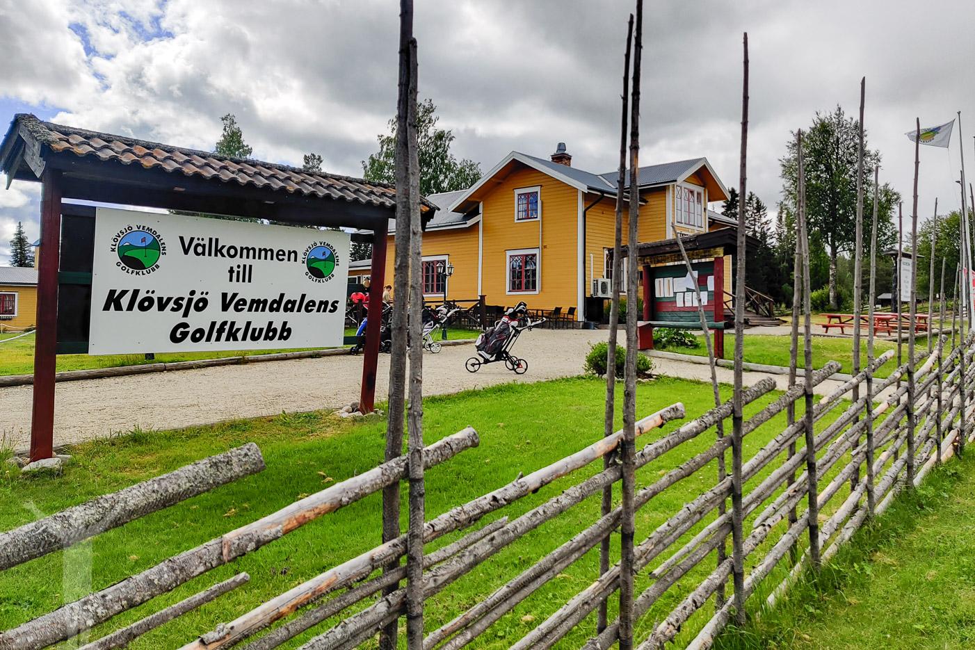 Välkommen till Klövsjö Vemdalens GK
