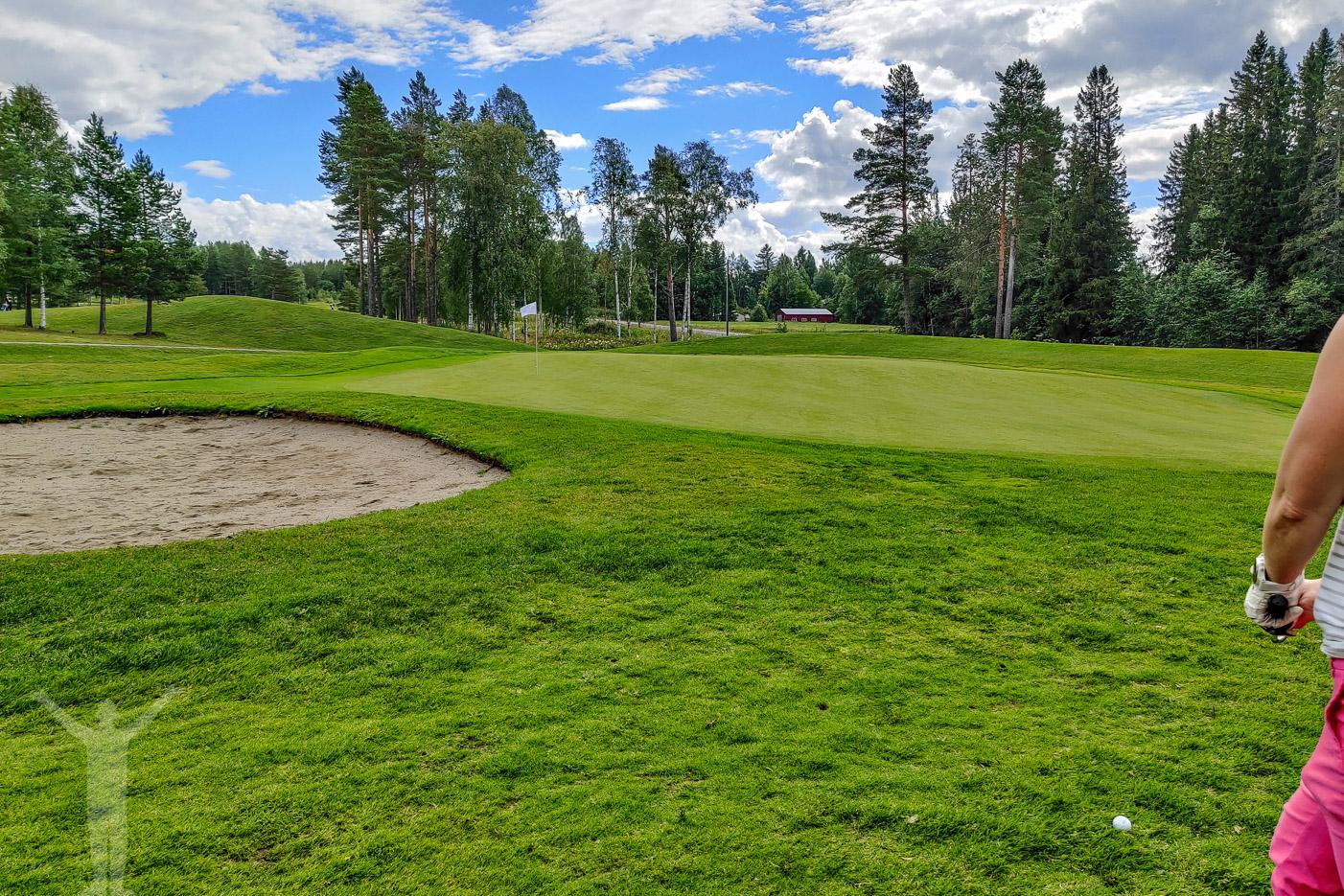 Sandnäset Golf utanför Östersund