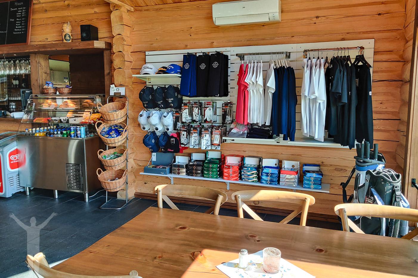 Shoppen på Sandnäset Golf